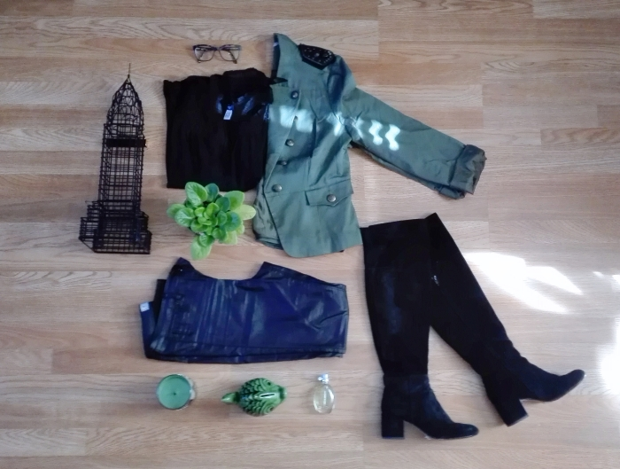 wardrobe essentials army green jacket